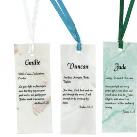 Personalized Inspiration – Bookmarks